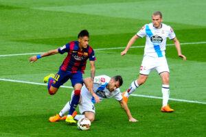 Барселона - Депортиво 2-2