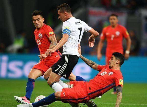 Прогноз на футбол: Чили – Германия, Кубок Конфедераций (02/07/2017/21:00)