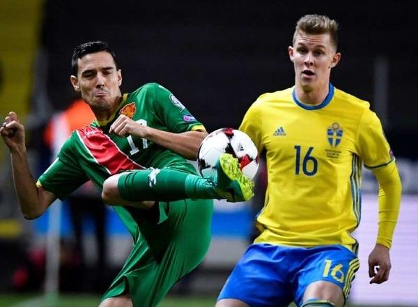 прогноз болгария футбол от швеция