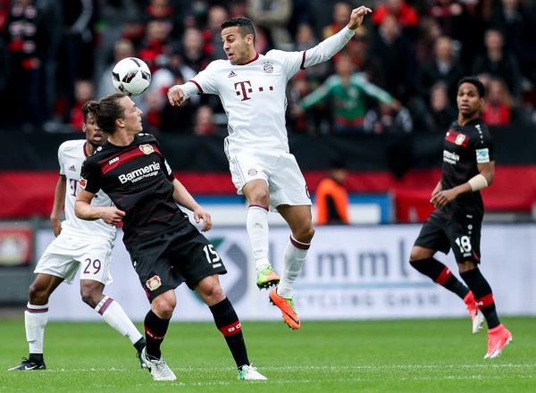 Прогноз на футбол: Бавария – Байер, Чемпионат Германии, Бундеслига, 1 тур (18/08/2017/21:30)
