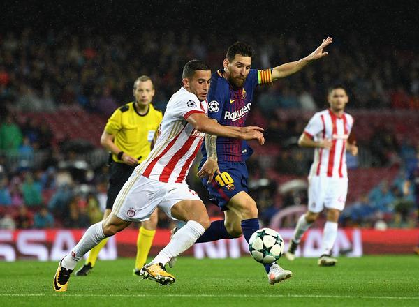 Прогноз на футбол: Олимпиакос – Барселона, Лига Чемпионов, Группа D, 4 тур (31/10/2017/22:45)