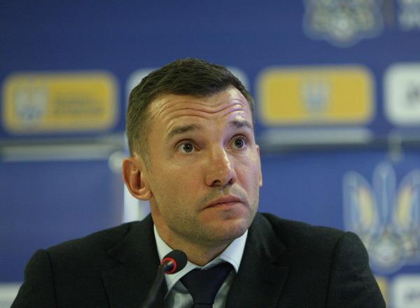 Прогнозы букмекеров: Андрей Шевченко останется главным тренером сборной Украины