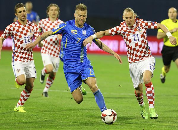 Прогноз на футбол: Украина – Хорватия, Квалификация к ЧМ, группа I, 10 тур (09/10/2017/21:45)