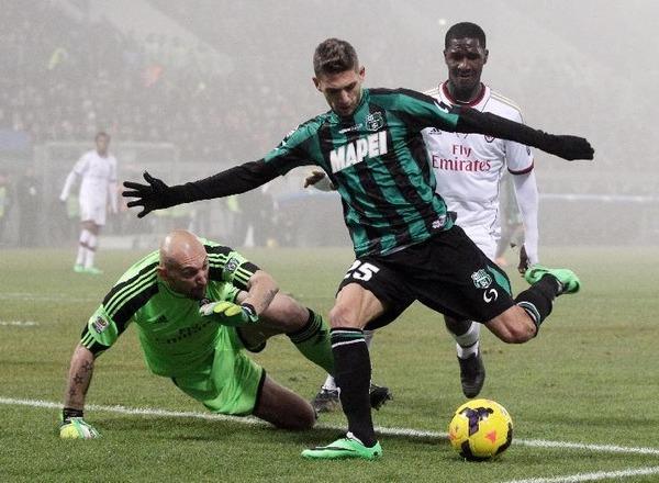 Прогноз на футбол: Сассуоло – Милан, Серия А, 12 тур (05/11/2017/22:45)