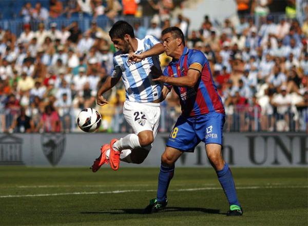 Прогноз на футбол: Малага – Леванте, Примера, 14 тур (01/12/2017/23:00)