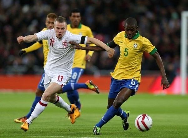 Прогноз на футбол: Англия – Бразилия, Товарищеский матч (14/11/2017/23:00)