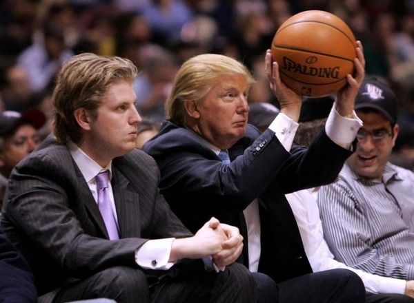 Букмекеры открыли линию на противостояние Трампа и НБА