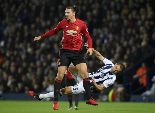 Прогноз на футбол:  Вест Бромвич – Манчестер Юнайтед, АПЛ, 18 тур (17/12/2017/17:15)