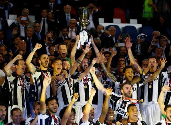 Букмекеры уверены: Ювентус в четвертый раз подряд возьмет Кубок Италии
