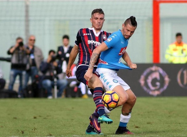 Прогноз на футбол: Кротоне – Наполи, Серия А, 19 тур (29/12/2017/22:45)