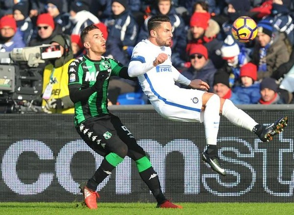 Прогноз на футбол: Сассуоло – Интер, Серия А, 18 тур (23/12/2017/17:00)