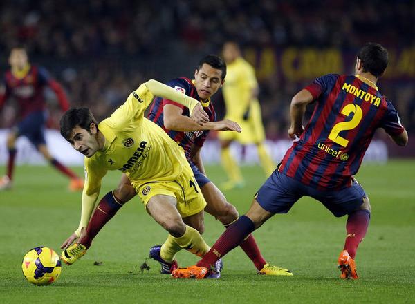 Прогноз на футбол: Вильярреал – Барселона, Примера, 15 тур (10/12/2017/22:45)