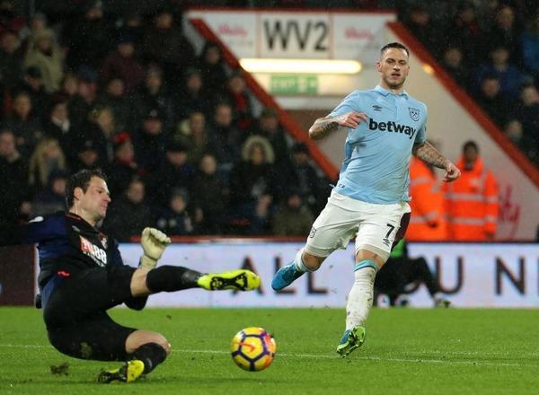 Прогноз на футбол: Вест Хэм – Борнмут, АПЛ, 24 тур (20/01/2018/18:00)
