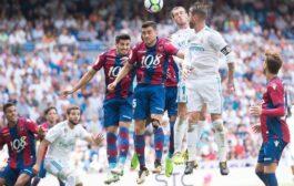 Прогноз на футбол: Леванте – Реал Мадрид, Примера, 22 тур (03/02/2018/22:45)
