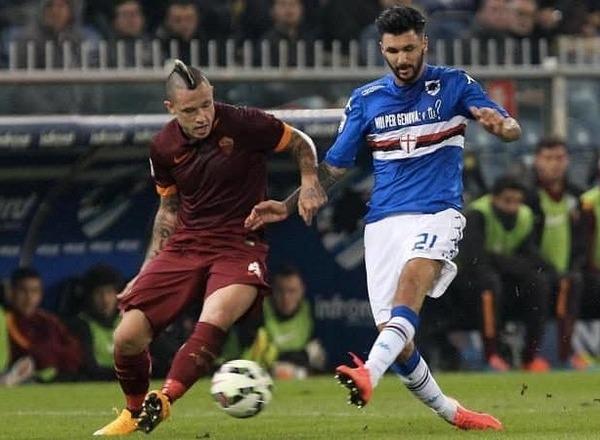Прогноз на футбол: Рома – Сампдория, Серия А, 22 тур (28/01/2018/22:45)