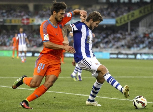 Прогноз на футбол: Валенсия – Реал Сосьедад, Примера, 25 тур (25/02/2018/20:30)