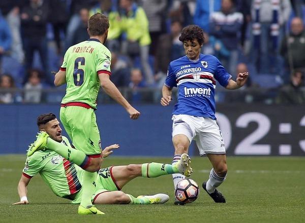 Прогноз на футбол: Кротоне – Сампдория, Серия А, 28 тур (11/03/2018/17:00)