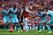 Прогноз на футбол: Арсенал – Вест Хэм, Англия, АПЛ, 3 тур (25/08/2018/17:00)