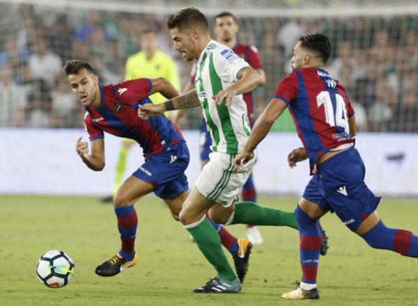 Прогноз на футбол: Бетис – Леванте, Испания, Примера, 1 тур (17/08/2018/23:15)