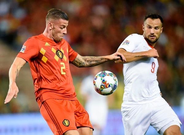 Прогноз на футбол: Швейцария – Бельгия, Лига наций (18/11/2018/22:45)