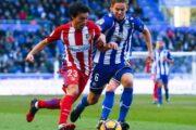 Прогноз на футбол: Атлетико – Алавес, Испания, Примера, 15 тур (08/12/2018/15:00)