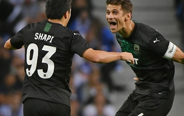 Прогноз на футбол: Олимпиакос — Краснодар, Лига Чемпионов, Плей-офф (21/08/2019/22:00)