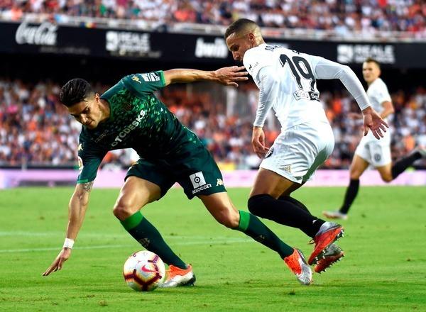 Прогноз на футбол: Бетис – Валенсия, Испания, Ла Лига, 14 тур (23/11/2019/18:00)