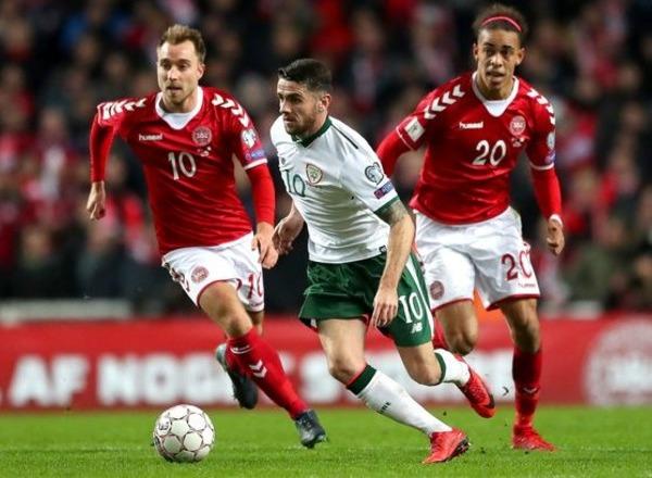 Прогноз на футбол: Ирландия – Дания, Квалификация Евро-2020, группа D, 10 тур (18/11/2019/22:45)