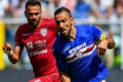 Прогноз на футбол: Кальяри – Сампдория, Италия, Серия А, 14 тур (02/12/2019/22:45)