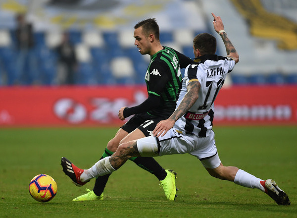 Прогноз на футбол: Удинезе – Сассуоло, Италия, Серия А, 19 тур (12/01/2020/14:30)