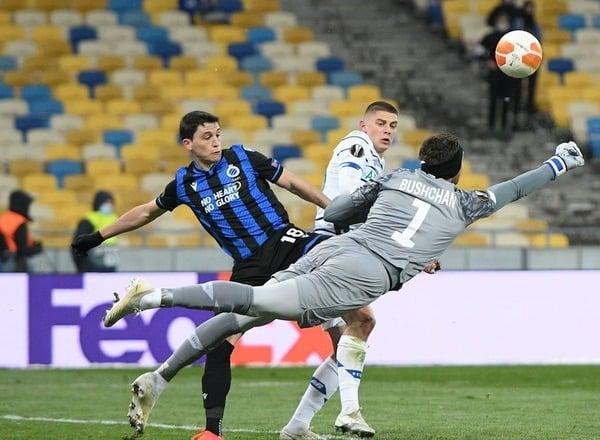 Прогноз на футбол: Брюгге – Динамо Киев, Лига Европы, 1/16 финала (25/02/2021/23:00)