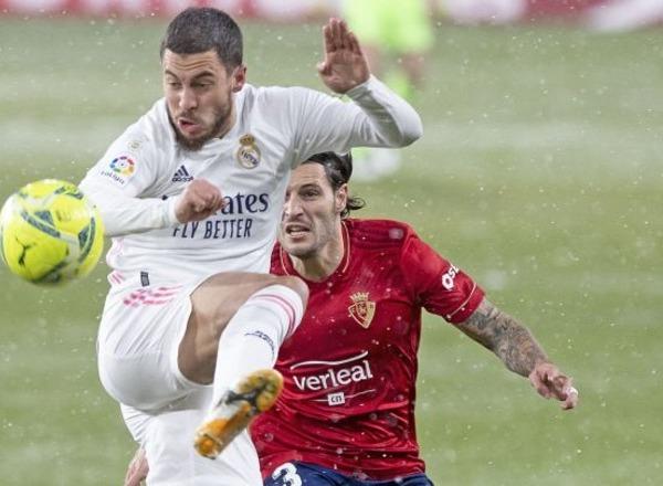 Прогноз на футбол: Реал Мадрид – Осасуна, Испания, Ла Лига, 34 тур (01/05/2021/22:00)