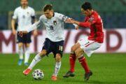 Прогноз на футбол: Италия – Болгария, ЧМ-22, Квалификация, 4 тур (02/09/2021/21:45)