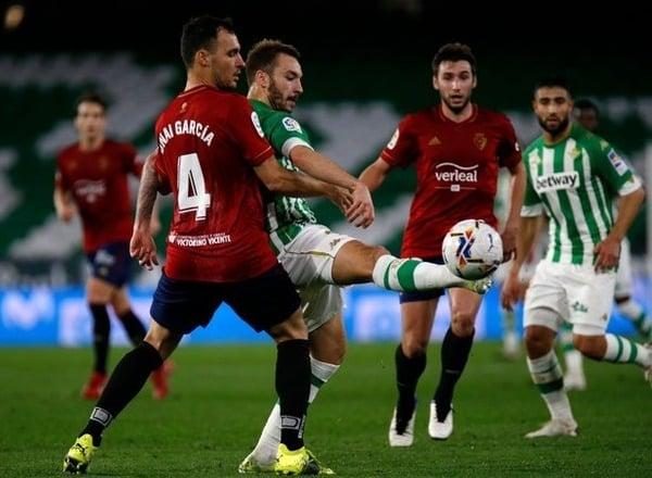 Прогноз на футбол: Осасуна – Бетис, Испания, Ла Лига, 6 тур (23/09/2021/20:30)