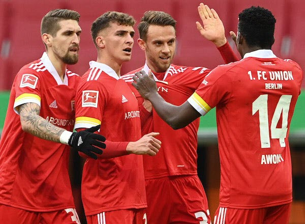 Прогноз на футбол: Унион Берлин – Арминия, Бундеслига, 6-й тур (25/09/21/16:30)