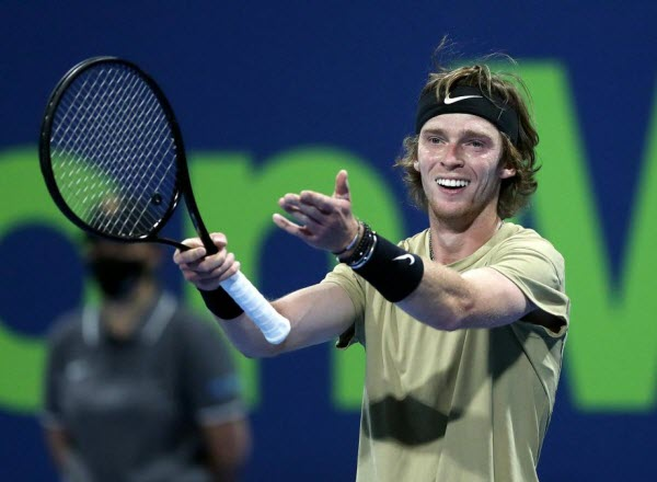 Прогноз на теннис: Рублев – Накашима, ATP, Сан-Диего, США (29/09/21/23:00)