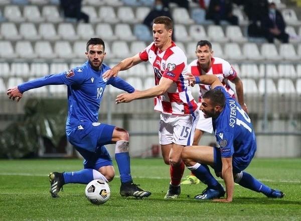Прогноз на футбол: Кипр – Хорватия, ЧМ-22, Квалификация, 7 тур (08/10/2021/21:45)