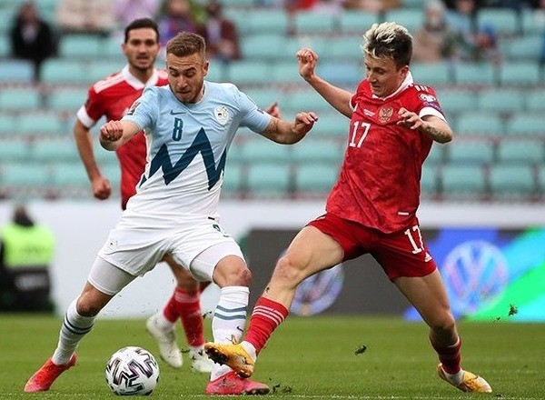 Прогноз на футбол: Россия – Словакия, ЧМ-22, Квалификация, 7 тур (08/10/2021/21:45)